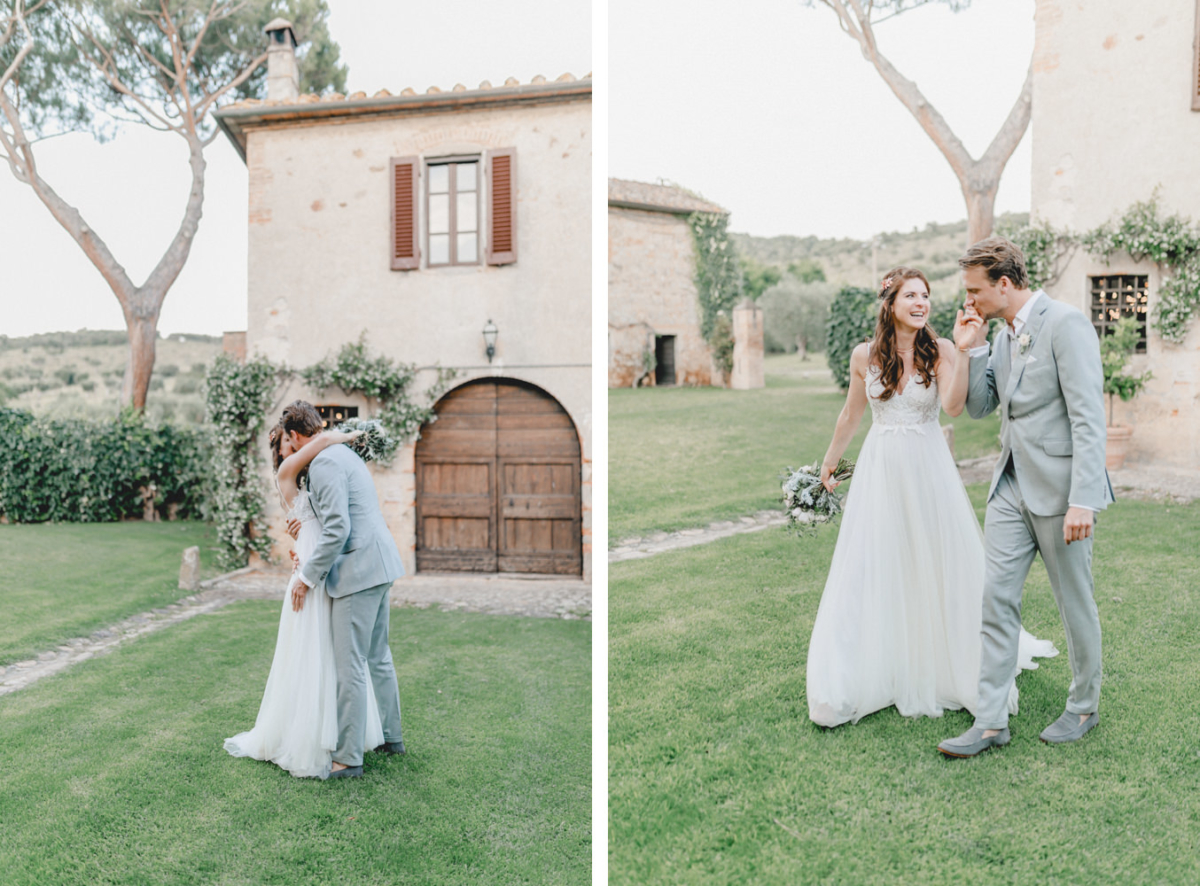 Bridal couple photoshoot with Italy wedding photographer