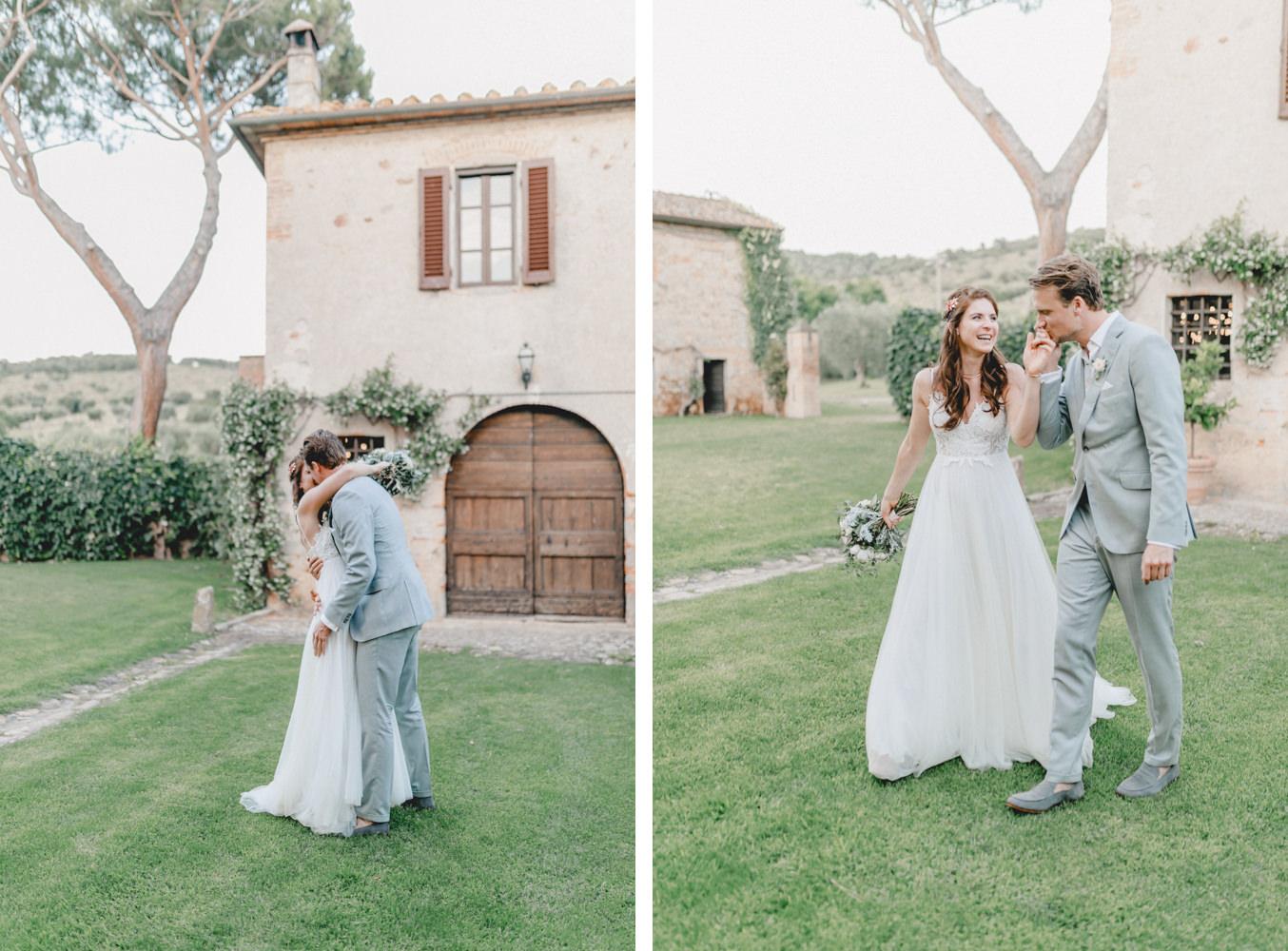 Bridal couple photoshoot with Italy wedding photographer