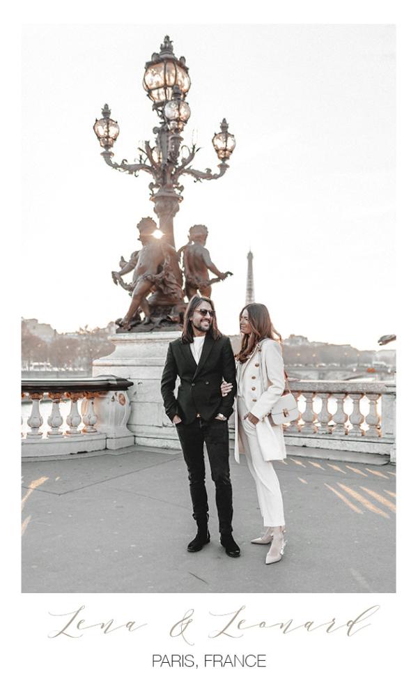 Hochzeitsfotograf mit Lena Terlutter in Paris