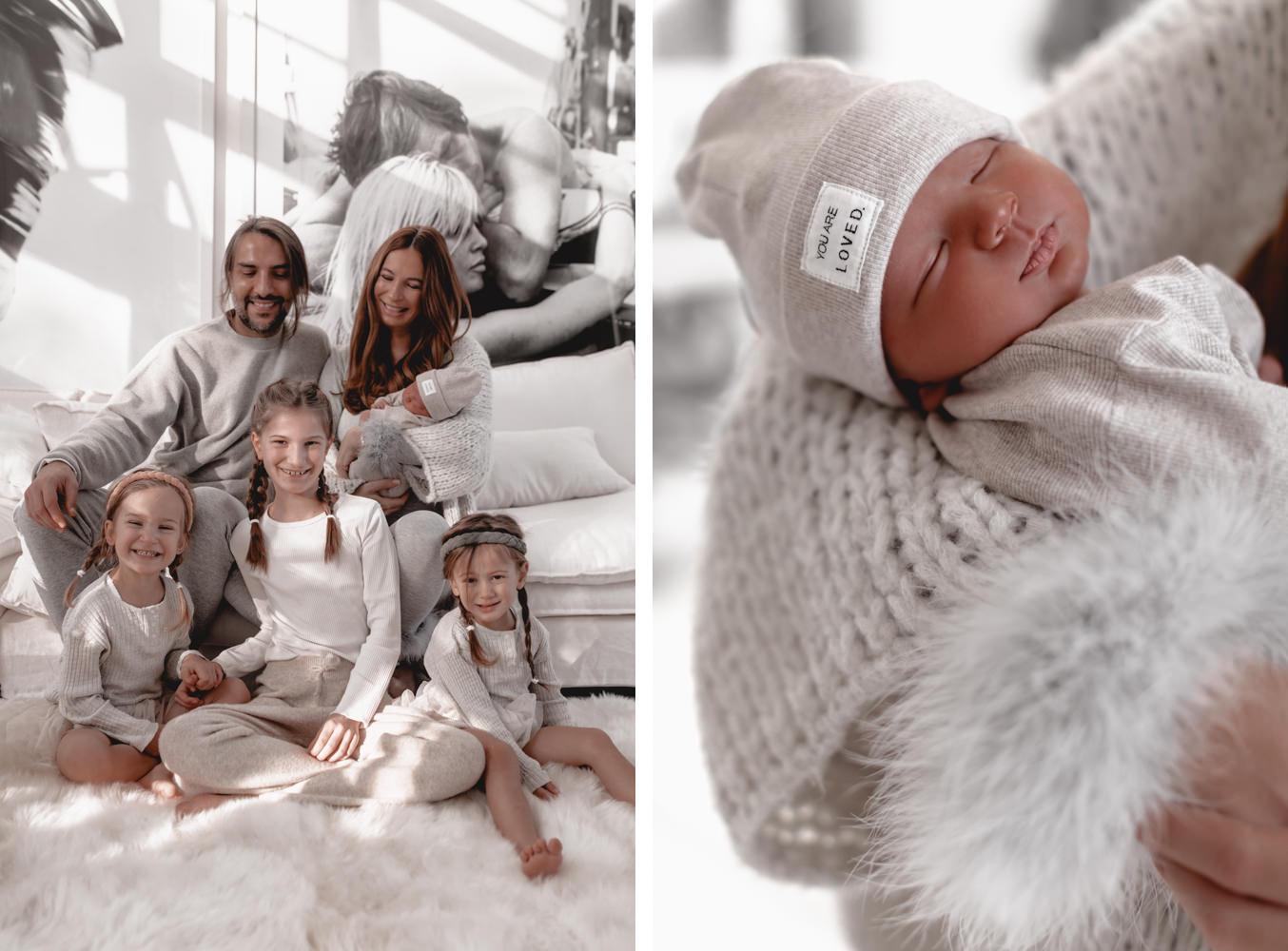 Newborn und Familien Shooting mit Lena Terlutter und Fotografin Bina Terré in Köln