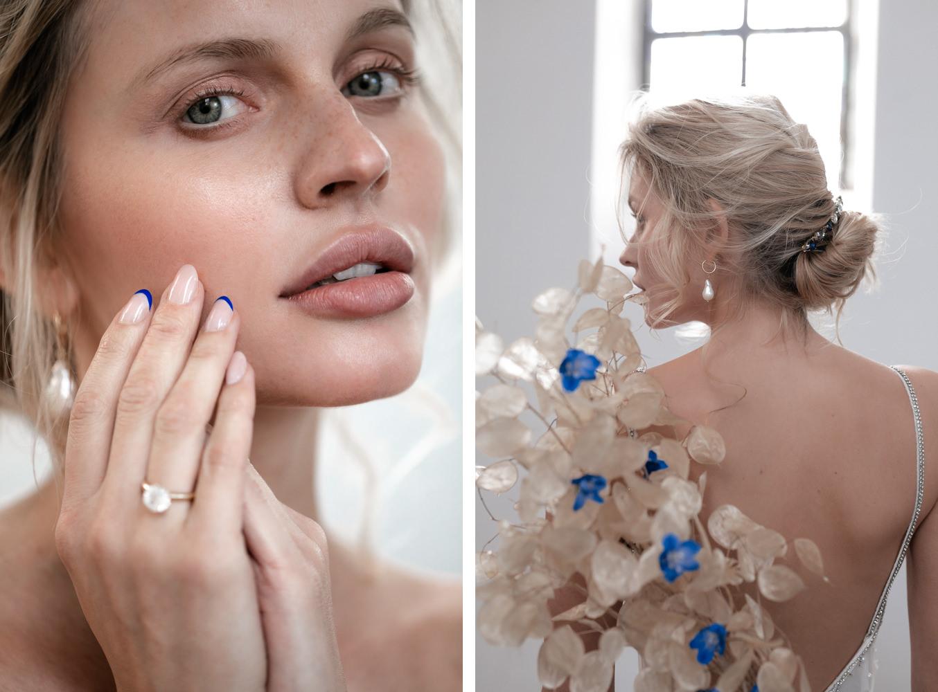 Braut in Tal Kedem Hochzeitskleid Inspiration