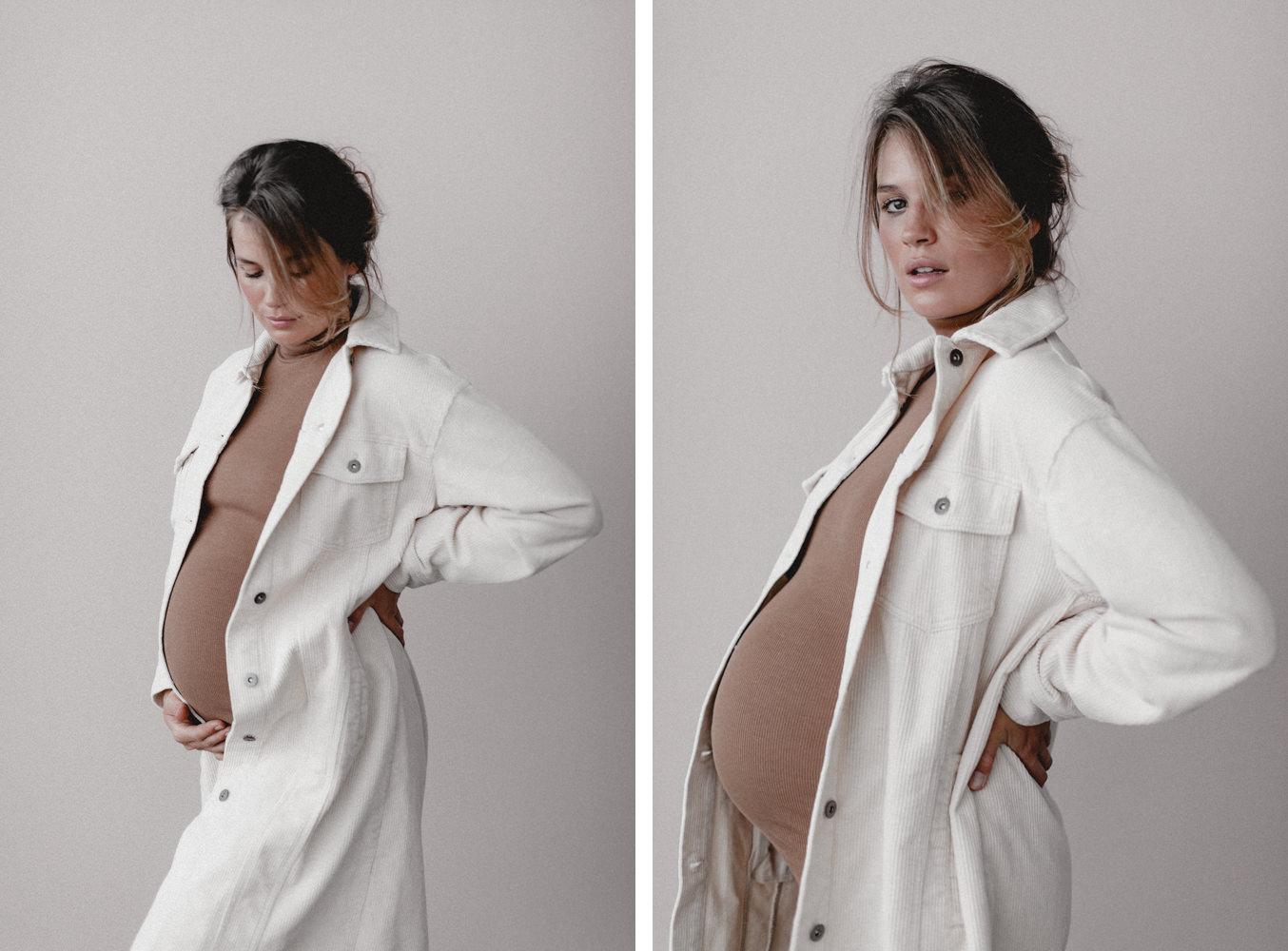 Schwangerschaft Shooting mit Fotografin Bina Terré im Sunny Loft in Düsseldorf