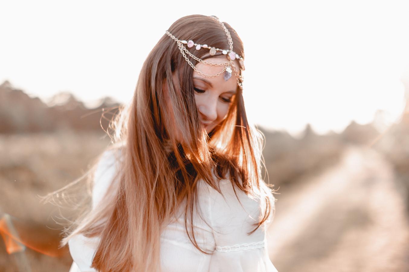 Lena Terlutter Babybauchfotograf in Brautkleid Kaviar Gauche